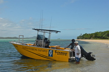 A new boat for NEW CALEDONIA FISHING SAFARIS