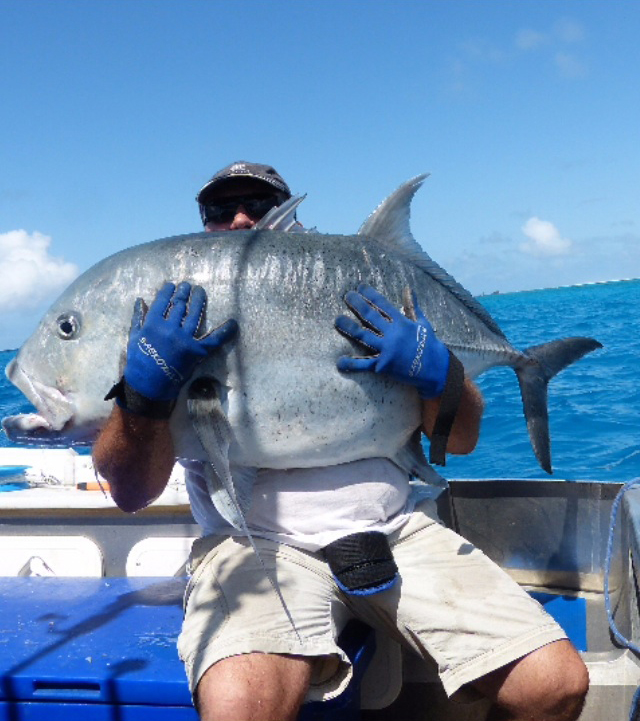 Three days guided test Sport Fishing far North New Caledonia Main Land with a Hunting & Fishing Tour Operator coming from South of France (Côte d'Azur)…